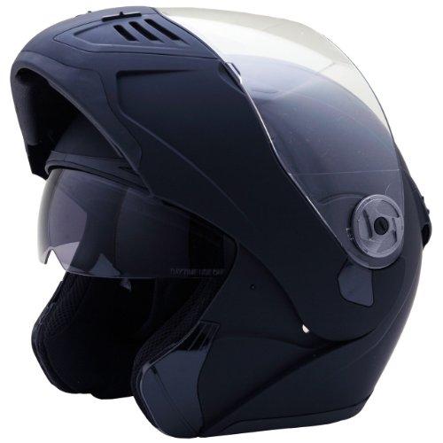 ネオライダース (NEO-RIDERS) FX8 Wシールド フリップアップ フルフェイス ヘルメット マットブラック Lサイズ 59-60cm SG/PSC FX8