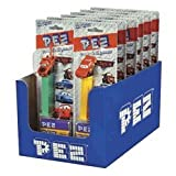 PEZ Disney Cars Assorted Dispensers, 6-Dispensers with (3)-0.29 oz refills each