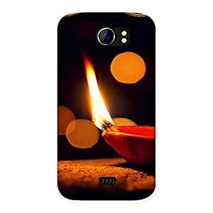 Positive Light Back Case Cover for Micromax Canvas 2 A110