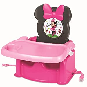Disney Baby Y10110 - Trona elevable con diseño Minnie Mouse de TOMY en BebeHogar.com
