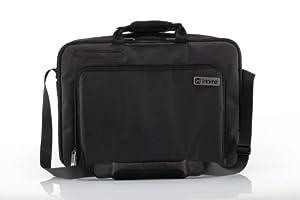 iHome Smart Brief: 15 inch Laptop Briefcase for Mac - TSA Checkpoint Friendly, Black