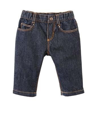 Petit Bateau - Pantalon Jean - Talbot - Bébé Garçon - Bleu (Jean) - 3 mois