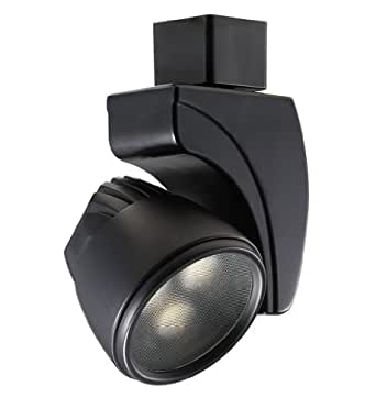 Spot 9W LED Track Head Finish Black Track Type Lightolier Series Color Te