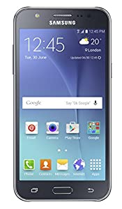 Samsung Galaxy J5 Sim-Free Smartphone - Black, 8GB (SM-J500F)