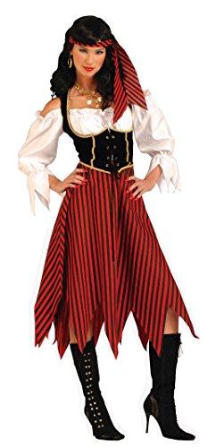 [Forum Novelties Women's Adult Pirate Maiden Costume - Large] (Pirate Maiden Adult Costumes)