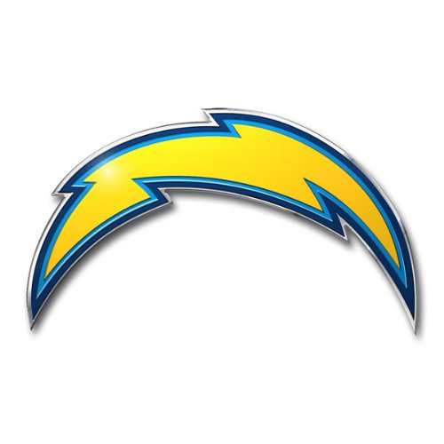 San Diego Chargers Cuts: NFL San Diego Chargers Die Cut Color Automobile Emblem