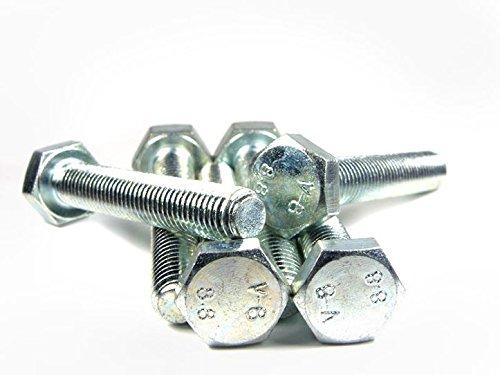 DIN-933-ISO-4017-PROFI-Sechskant-Schraube-Vollgewinde-Gte-88-verzinkt-Stahl-gehrtet-DIN933-PROFI-6kt-VGW-G88-VZ-SGH-M16-x-45-15-Stck