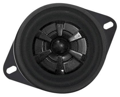 Audiobahn Ams352H 3-1/2-Inch 2-Way Murdered Out Series Coaxial Car Speakers