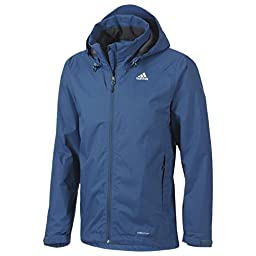 adidas Outdoor Hiking Wandertag Jacket - Men\'s Tribe Blue XX-Large