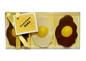 Gwynedd Confectioners Chocolate Happy Easter Eggs 75 g (Pack of 2)