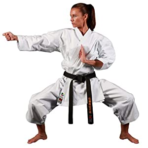 Shureido NEW WAVE 3 KATA-WKF Karate Gi Uniform White By Kamikaze by Shureido