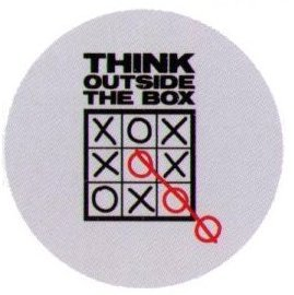 Think Outside The Box Snorg 1.25 Inch Button
