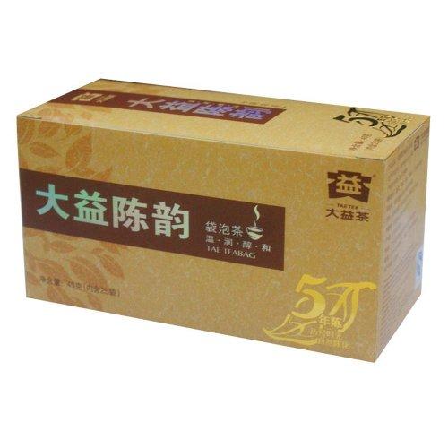 Chenyun 5-Year Aged Ripe Pu'Er Teabag Yunnan Dayi Chinese Pu-Erh Puer Tea 45G