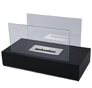 StandGelkamin  Feuerstelle, mit 2 Glasscheiben   Kundenbewertung und Beschreibung