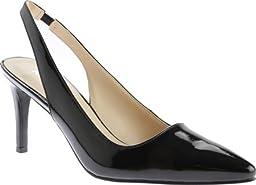 Nine West Women\'s Casablanc Synthetic Dress Pump, Black, 7.5 M US