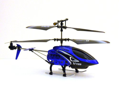 Viefly V789 3 Channel Remote Control Helicopter with Gyro (Color May Vary)