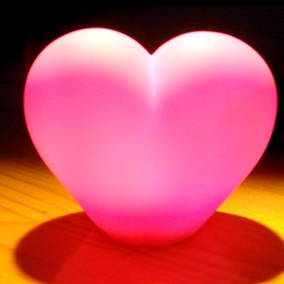 Color Changing Led Heart Love Romantic Wedding Favor Baby Kid Mood Lamp Night Light Children back-329442