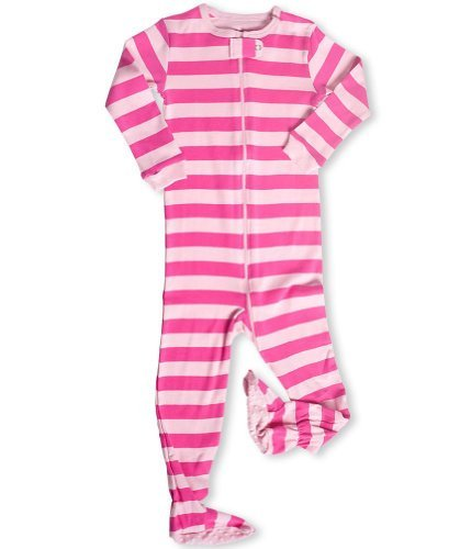 "Deal Leveret (P)Footed ""Striped"" Pajama Sleeper 6M-3T (New Design, Fall '11) (12-18 Months) Guides"