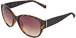 Omnesta Women's Spectacle Sunglasses Sunglasses (Brown) (PD087)