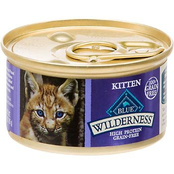 Blue Buffalo Wilderness Grain-Free Canned Kitten Food, 3 oz.