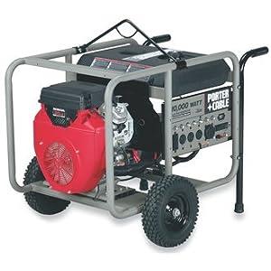 Porter Cable H1000is W 10 000 Watt 20 Hp Portable Generator Best Price Generatorshore