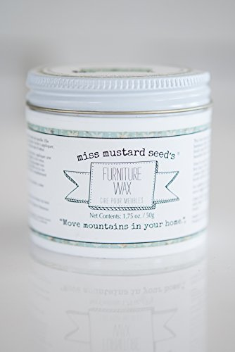 Miss Mustard Seed's Furniture Wax (Clear) 50g (Clear Furniture Wax compare prices)