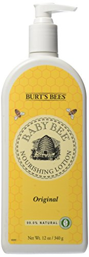 Burt'S Bees Baby Bee Nourishing Lotion, Original, 12 Ounce Pump Bottle