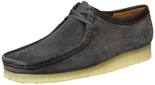 clarks-wallabee-scarpe-stringate-uomo-nero-charcoal-suede-42-eu