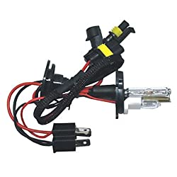 See Carking? AC 12V 55W HID Xenon Conversion Kit with Slim Ballast--H4-2 , 6000K Details