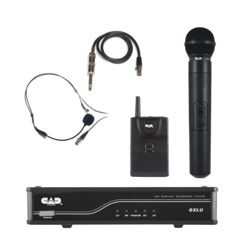 Cad Audio Gxluhb-K Uhf Wireless Combo System - K Frequency Band