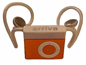 Arriva iPod Shuffle (2nd Generation) headphones with ipod-type earbuds, wireless, cordless headphones for iPod Shuffle