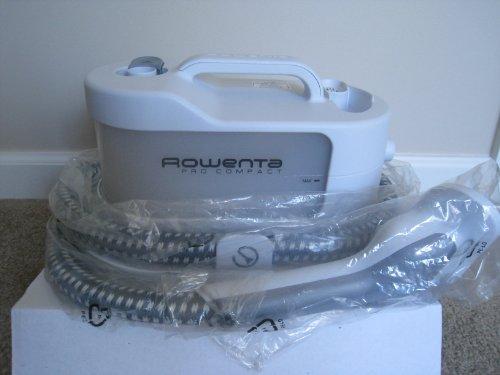 1400-Watt Rowenta IS1430 Pro Compact Garment Steamer with Accessories Grey