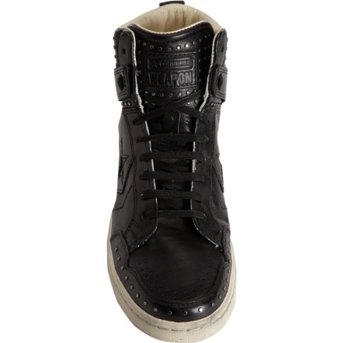 CONVERSE BY JOHN VARVATOS Men's JV Weapon (Black/Black 9.0 M)