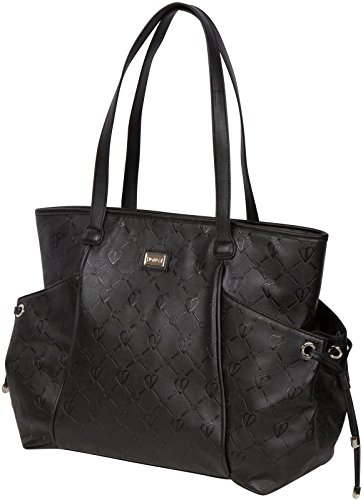 The Bumble Collection Embossed Tote - Black - 1