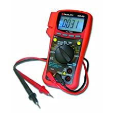 Triplett 9045 Auto-Ranging, True RMS Digital Multimeter 10 Amp, 750VAC, 1000VDC, 60 Megaohms, 4000 Microfarads, 10 MHz