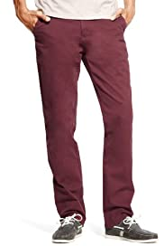 North Coast Pure Cotton Straight Leg Washed Chinos [T17-1752N-S]
