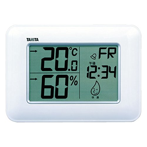 Tanita digital temperature-humidity TT-530-WH - 1