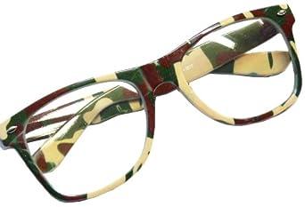 NERD Clear Brille Sondermodel! ARMEE