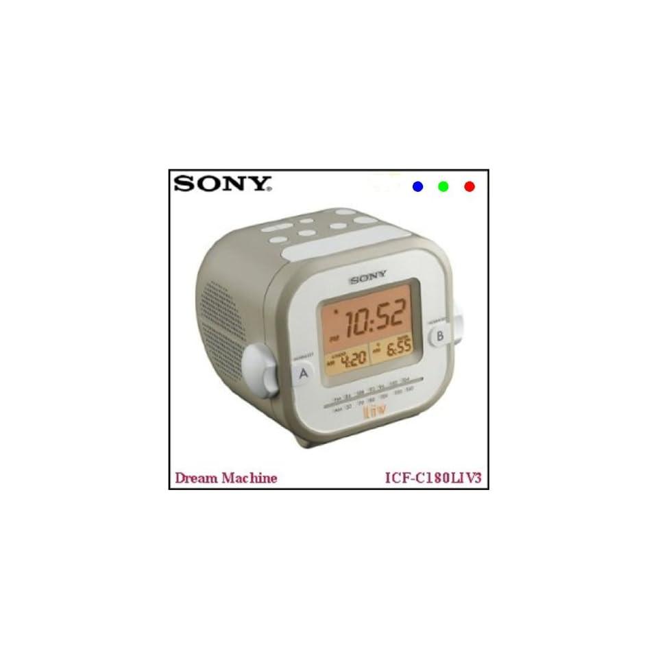 Sony Automatic Time Set Clock Radio Dream Machine
