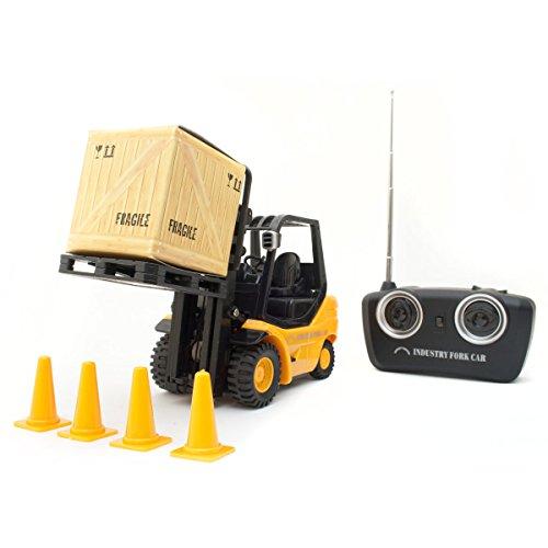 Ferngesteuerter-RC-Gabelstapler-Modellbau-RC-Modellbau-Hochhubwagen