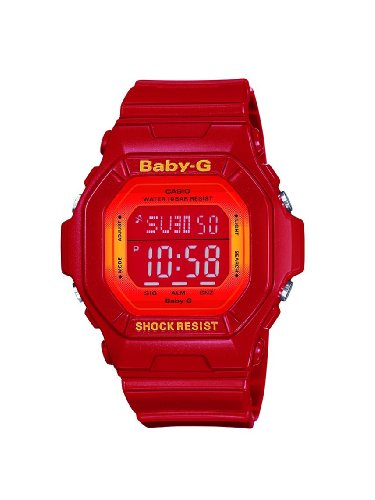 Baby-G Casio Ladies Digital Watch BG-5600SA-4ER with Resin Strap