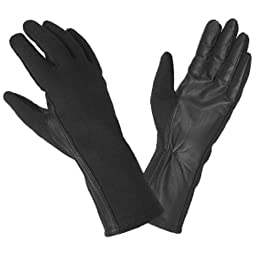 Hatch BNG190 Flight Glove with Nomex (Black, X-Large)
