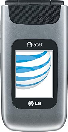 LG A340, Silver (AT&T)