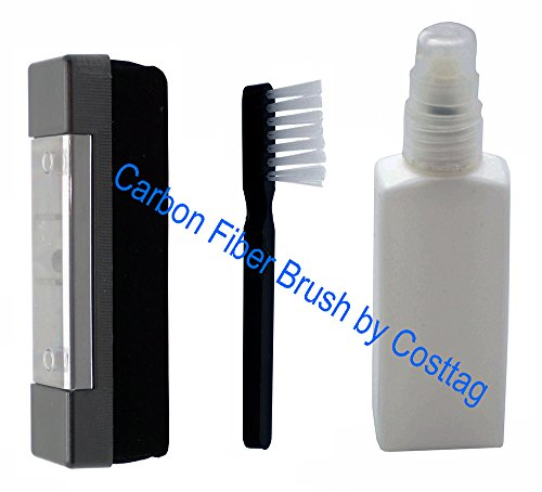 Boytone-Anti-Static-Carbon-Fiber-record-and-LP-Vinyl-cleaner-washer-with-Stylus-brush-and-record-cleaning-liquid-set