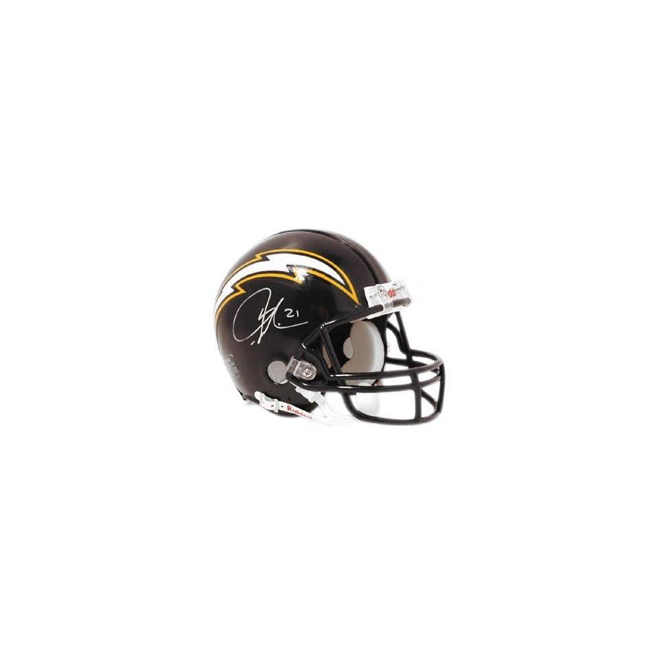 LaDainian Tomlinson San Diego Chargers Autographed Mini Helmet