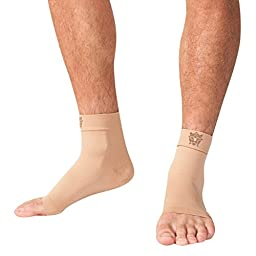 Bitly Plantar Fasciitis Socks (1 Pair) Premium Ankle Support foot Compression Sleeve (X-Large)
