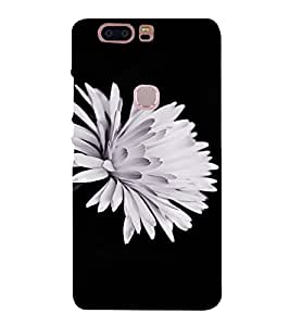 PrintVisa Flower Design 3D Hard Polycarbonate Designer Back Case Cover for HUAWEI HONOR V8