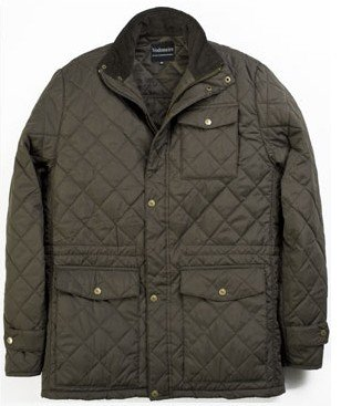 VEDONEIRE Mens GREEN QUILTED JACKET Padded (Medium)