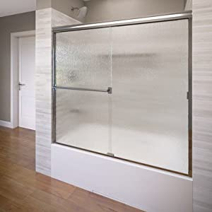 Deluxe Framed Bypass Sliding Shower Door
