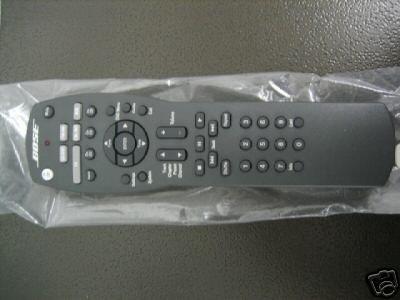 Bose 321 Gs Ii Remote Control (288579-101)